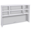 "Sirius 100 Collection Modern White 63"" Hutch"