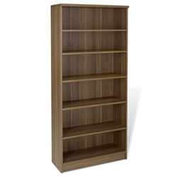 Series 100 Walnut Modern Bookcase