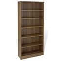 Sirius Walnut Modern Bookcase
