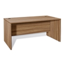 Sirius 100 Collection Walnut Modern 71 In. Executive Desk