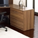 Series 100 Walnut Finish Modern Lateral File Cabinet