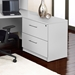 Series 100 White Laminate Contemporary Office Lateral File Cabinet