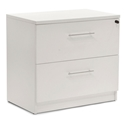 Series 100 White Laminate Modern Lateral File