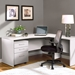 Series 100 Contemporary Right Hand Desk + Return