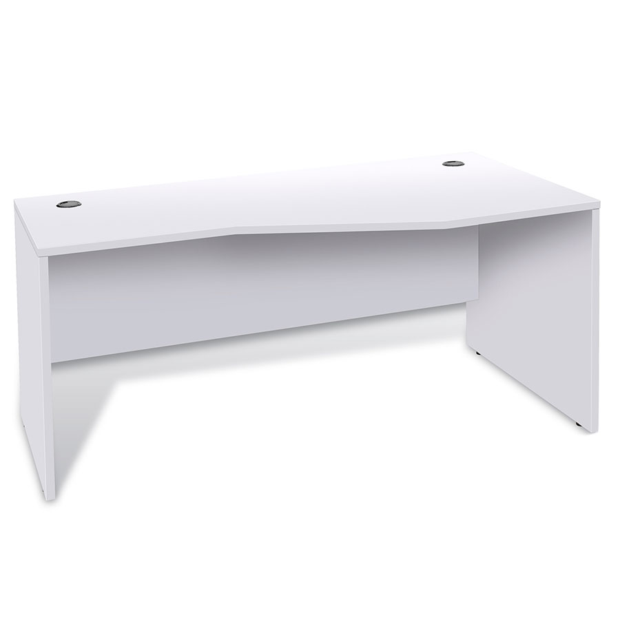 Sirius 100 Collection Modern Right Hand White Desk