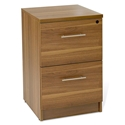 Series 100 Modern 2-Drawer Open Grain Laminate File Cabinet