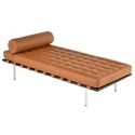 Sevilla Cognac Leather Modern Classic Daybed