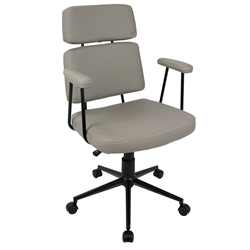 Seymour Modern Gray Office Chair