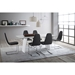 Shannah White Modern Dining Table Room