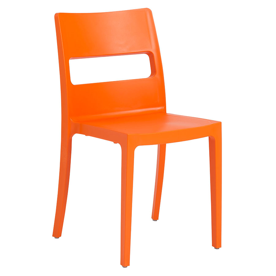 Shannon Modern Orange Dining Chair Eurway Furniture