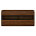 Shaw Walnut Contemporary Sideboard