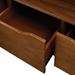 Shaw Walnut Modern Sideboard Detail