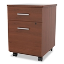 Siena Modern Cherry Mobile File Cabinet