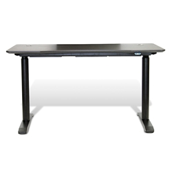 Sit-Stand Adjustable 55x27 Modern Desk in Espresso