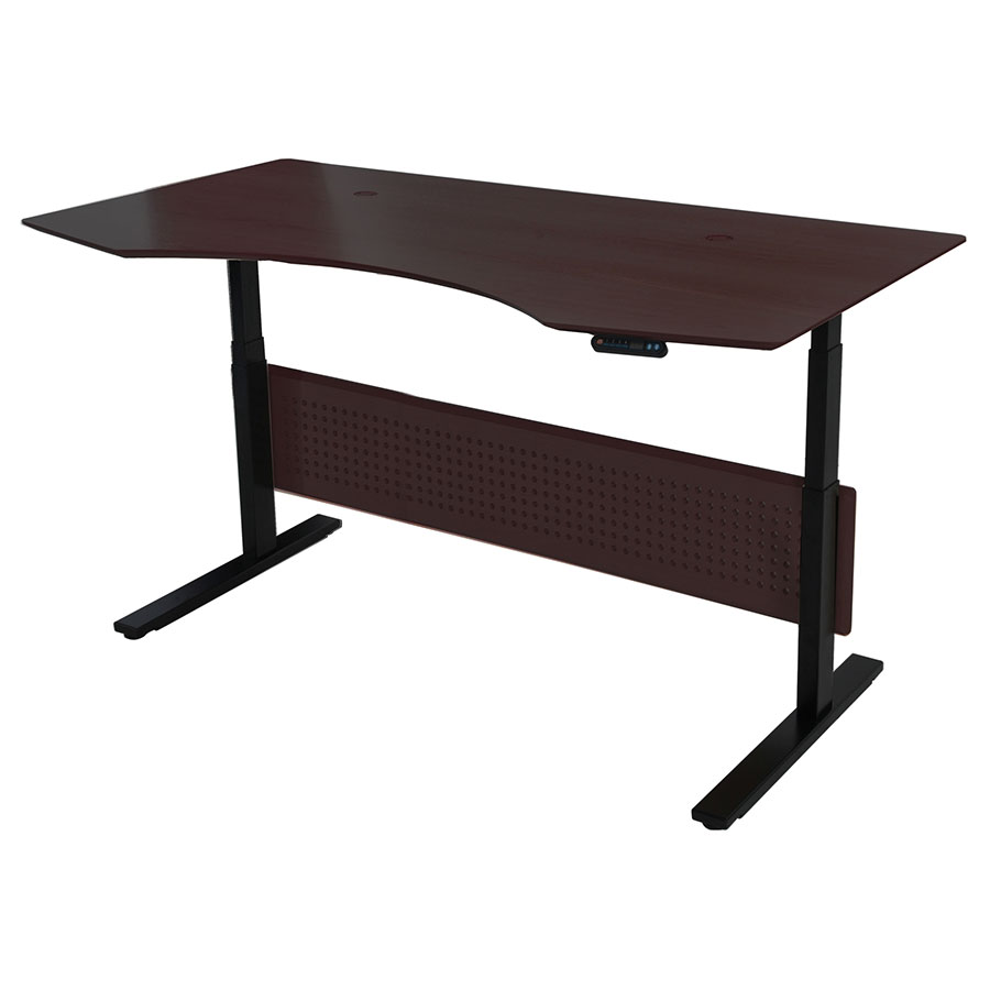 Call To Order Sit Stand 75x41 Modern Adjule Espresso Desk