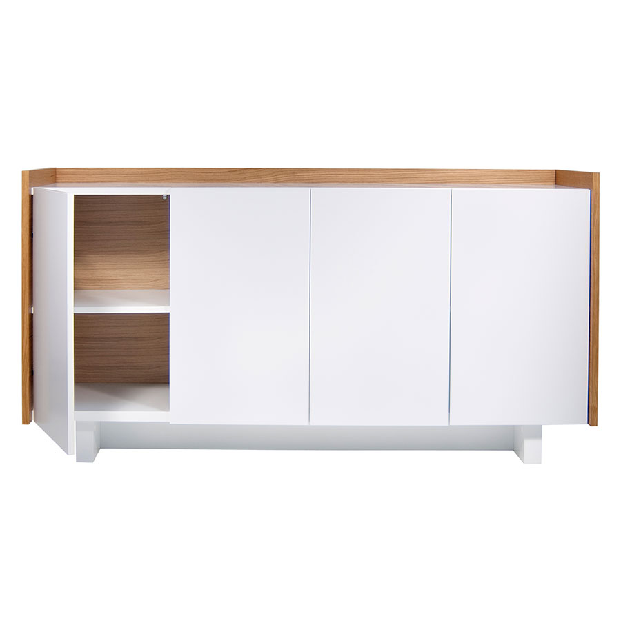 Skin Contemporary Sideboard Open