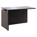 Skye Modern 48 Inch Return/Bridge in Espresso