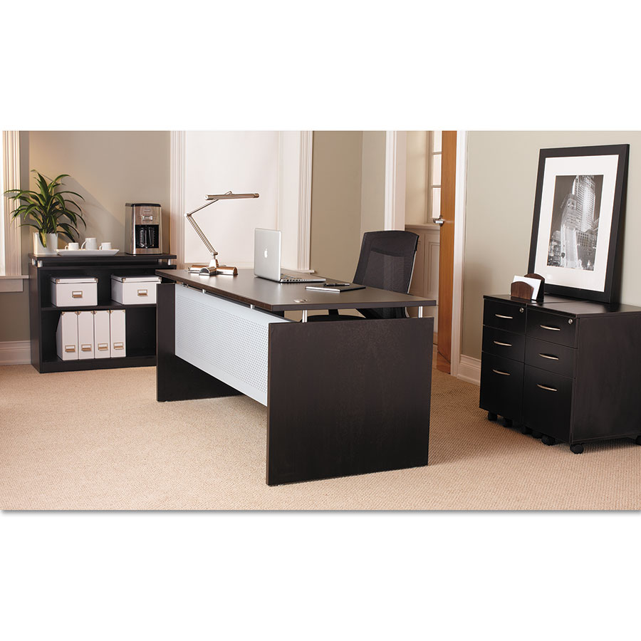 ... Skye Espresso Modern Office Collection
