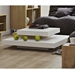 Slate White + Oak Contemporary Coffee Table Lifestyle Two