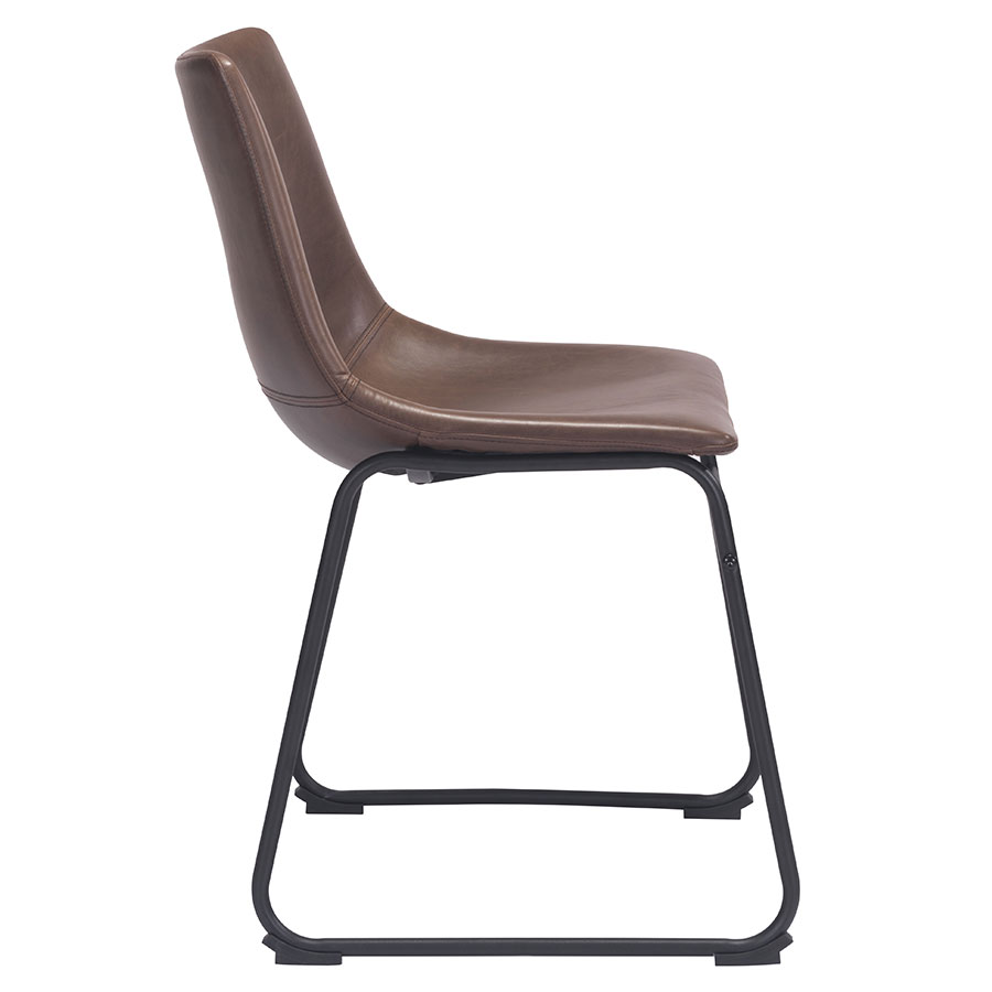 Slater Modern Dining Chair - Side View