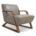 Sloan Modern Genuine Leather Chair