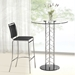 Soar Contemporary Black Bar Stool by Zuo