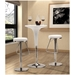 Swindon Modern Adjustable Stool in White