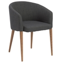 Sonoma Modern Charcoal Dining Chair