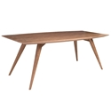 Sonoma Moderm Walnut Dining Table