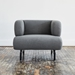 Gus* Modern Soren Chair in Stockholm Graphite Fabric Upholstery - Lifestyle