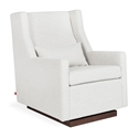 Gus* Modern Sparrow Glider in Beige Huron Ivory Fabric Upholstery