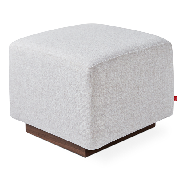 Gus* Modern Sparrow Glider Ottoman in Cambie Parchment
