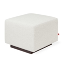 Gus* Modern Sparrow Glider Ottoman in Huron Ivory Fabric Upholstery