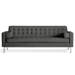 Spencer Contemporary Sofa in Urban Tweed Ink
