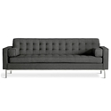 Spencer Contemporary Sofa in Urban Tweed Ink by Gus* Modern
