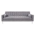 Spencer Contemporary Sofa in Vintage Smoke by Gus* Modern