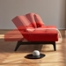 Splitback Eik Sleeper - Orange + Black Base by Innovation - Motion