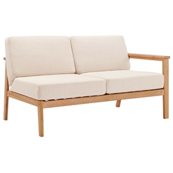 Stafford Modern Outdoor Right Arm Loveseat