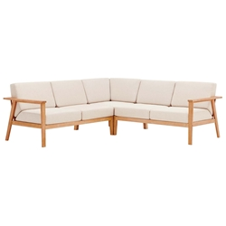 Stafford Modern Outdoor Sectional Sofa