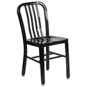 Stamford Modern Indoor Outdoor Chair in Black