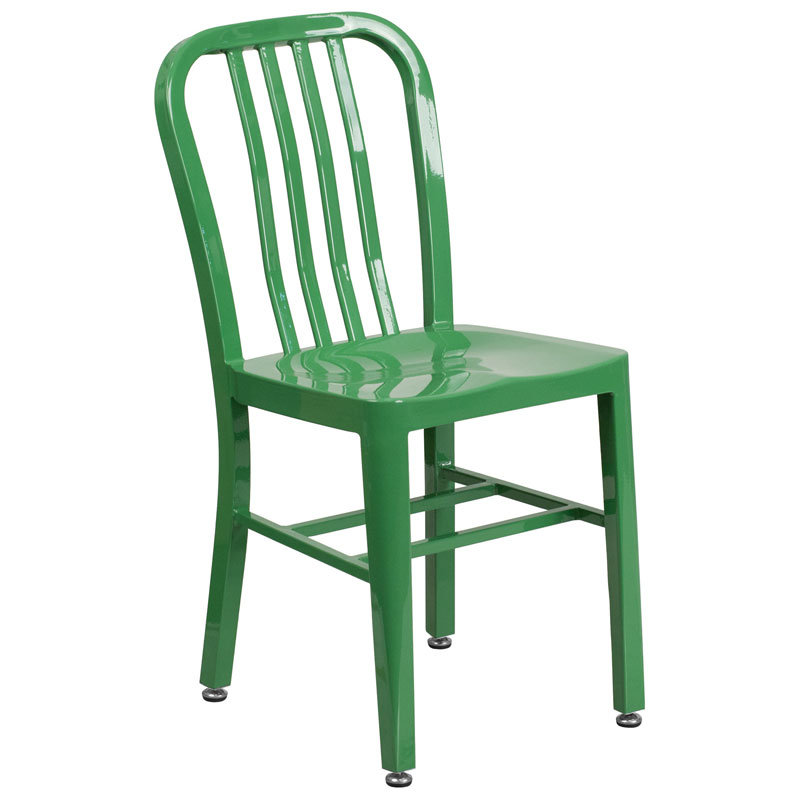 Stamford Modern Indoor Outdoor Chair in Green