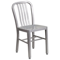 Stamford Modern Indoor Outdoor Chair in Silver