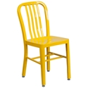 Stamford Modern Indoor Outdoor Chair in Yellow