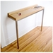 Gus Modern Stanley Console Table in Natural Ash