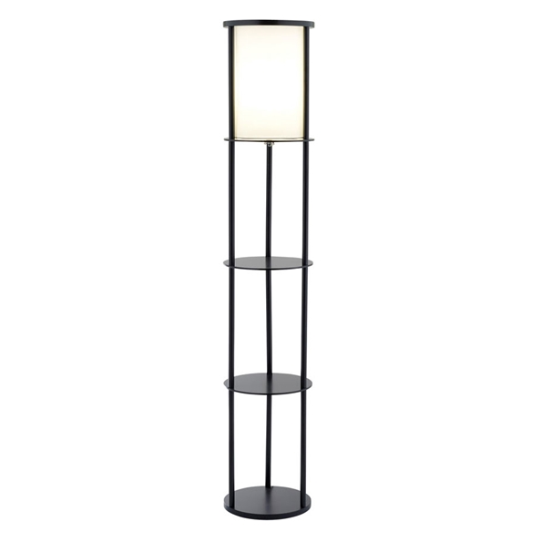 Stark Modern Shelf Floor Lamp