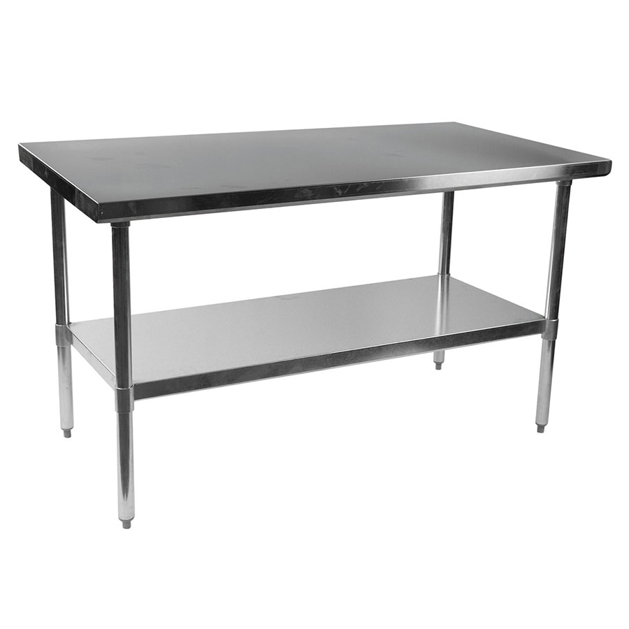 "stelios steel 60"" prep table 