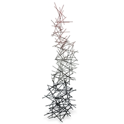 Sticks Modern Metal Wire Floor Sculpture