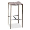 Stone Backless Indoor Outdoor Modern Bar Stool by Whiteline