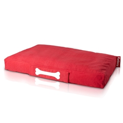 Fatboy Large Stonewashed Doogielounge in Red