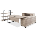 Stromstad Modern Natural-Colored Desk Set